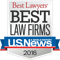 Best Lawyers, Best Law Firms U.S. News 2016